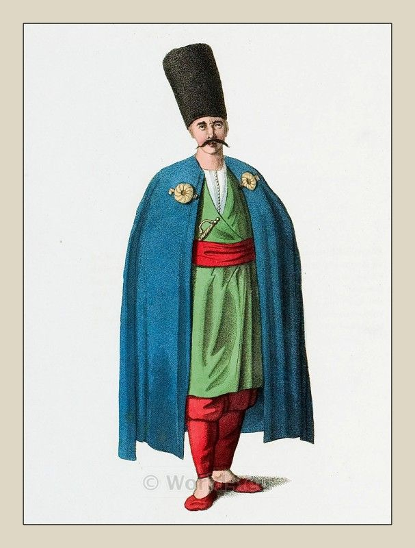 Muslim Man Bosnia Costume Ottoman Empire Historical Clothing The Costume Of Turkey Ottoman