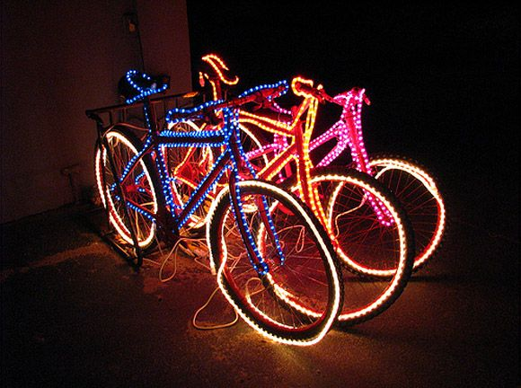 Wholesale Lots Sensible Programmable Bicycle Lights