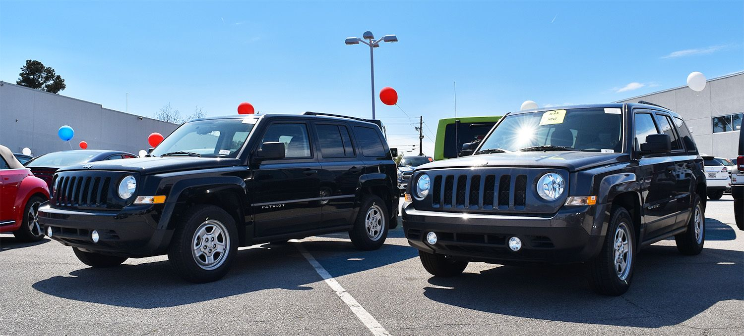 When 2017 Jeep Patriots are more than 6,000 off, you may