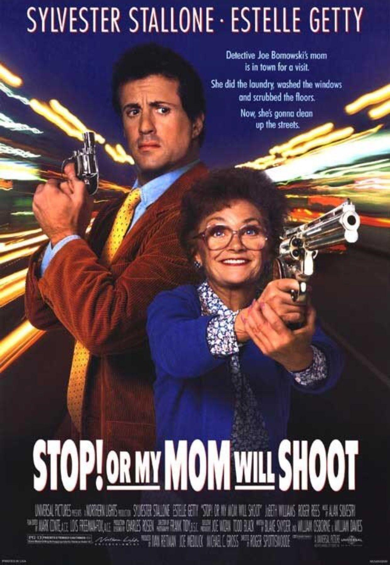 Stopormymomwillshoot 1992 Sylvester Stallone Movies Bad Film