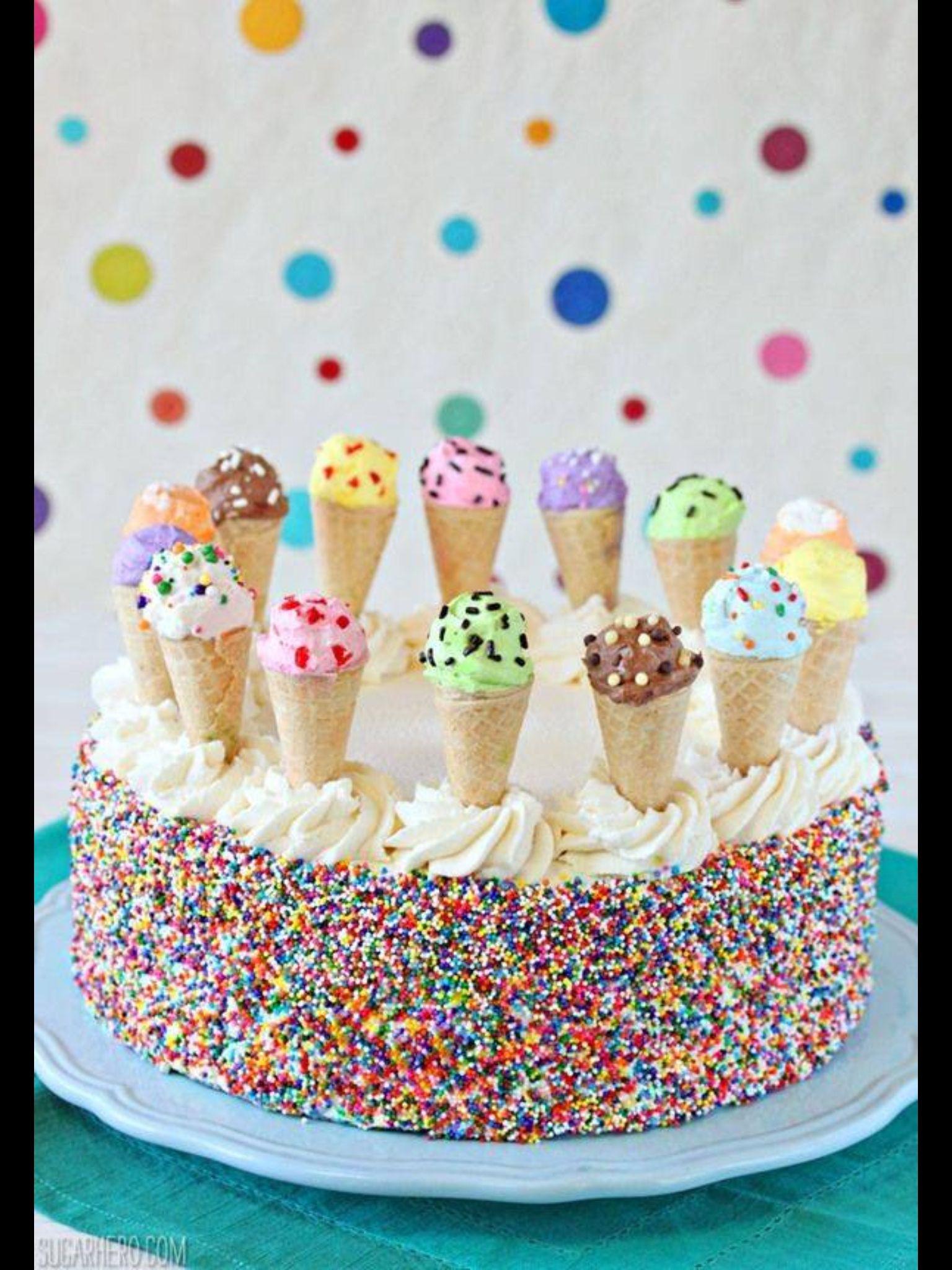 Yummy ice cream cake