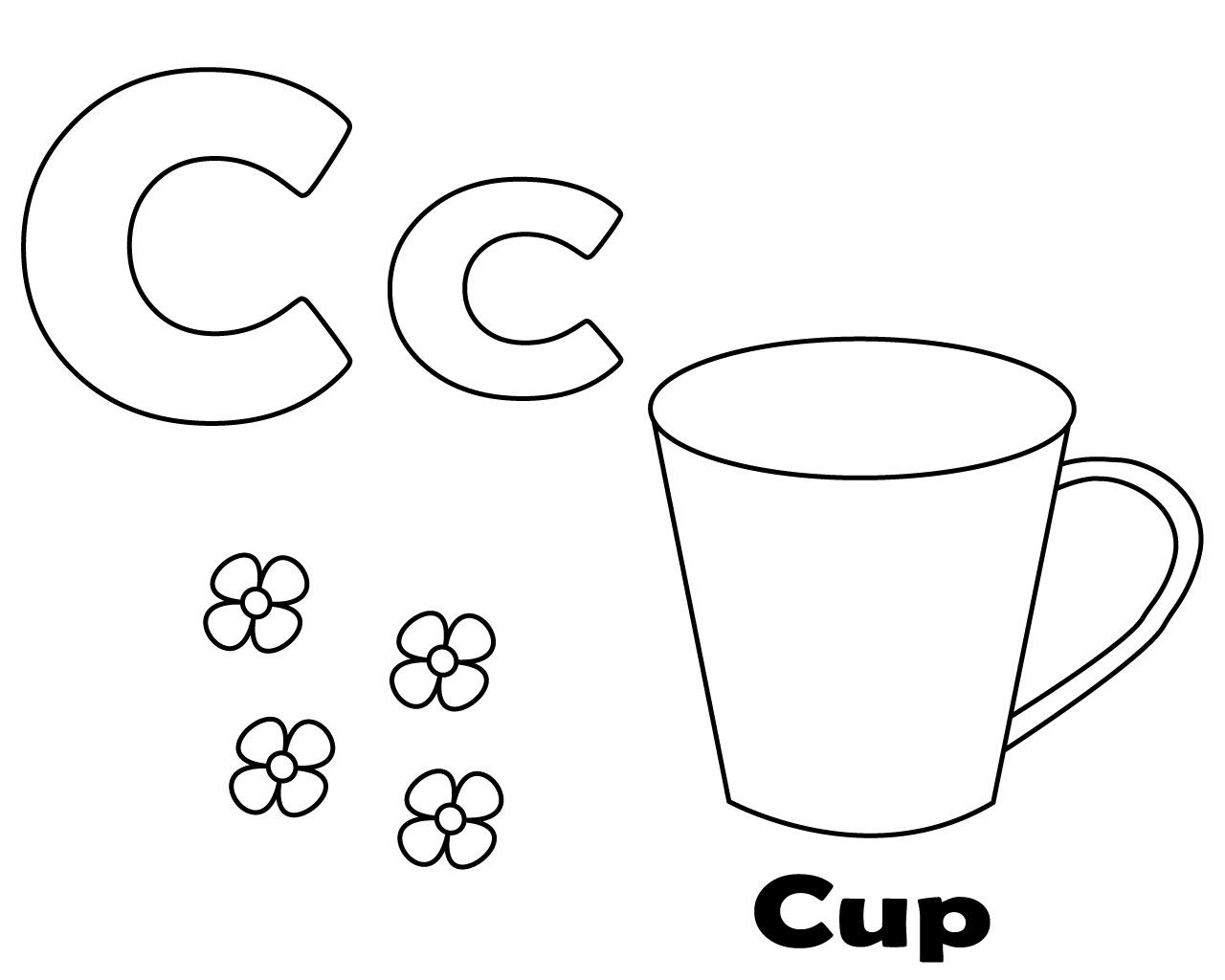 Letter C Coloring Pages For Toddlers Letter C Coloring Pages Free Coloring Pages Coloring Pages