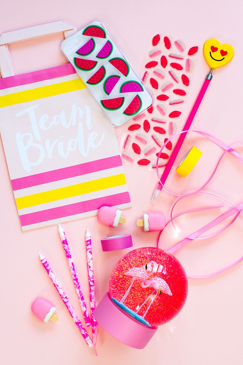 DIY Team Bride Goodie Bags | Wedding | Bridal Shower | Hen Party ...