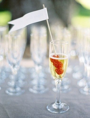 Wedding Ideas: raspberry-champagne-wedding-cocktail