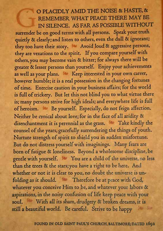 The Desiderata Google Search Books Worth Reading