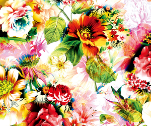 Imagem de background, pattern, and flowers