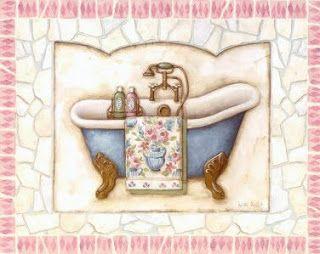 Bañeras para decoupage