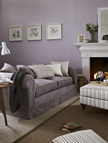 Love Love Love Cool Lilac Grey Living Room Mauve Living
