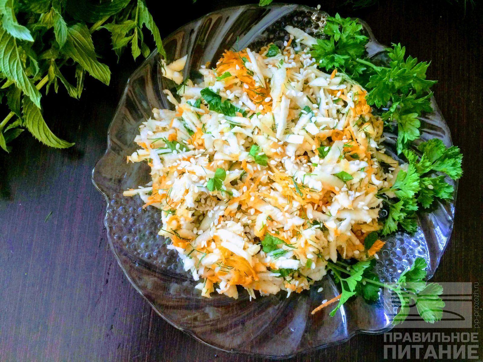 Корень сельдерей салат для похудения