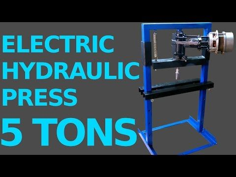 25 electric hydraulic press diy youtube tools and homemade