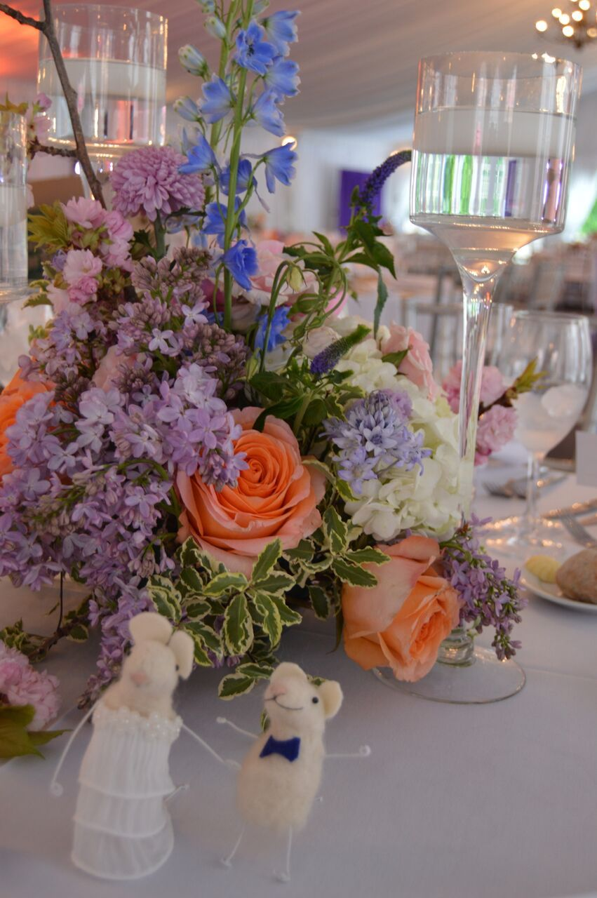 Spring Colorful Wedding Flowers Spring Centerpiece Whimsical
