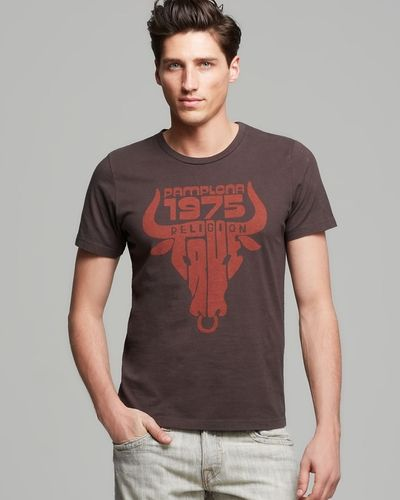 1975 was a very good year. True Religion True Toro Tee. #mens #fashion #bloomingdales