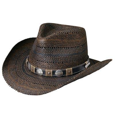d6de9813d Men's Patterned Straw Cowboy Hat | Hats Harley Style | Cowboy hats ...