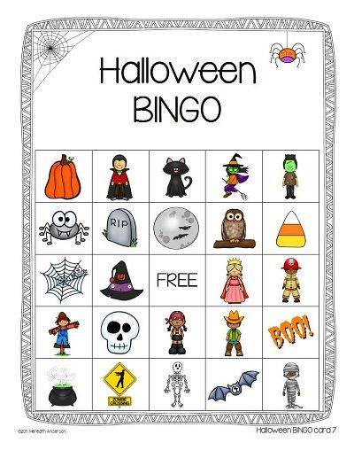 Halloween BINGO | Halloween bingo, Halloween parties and Holidays