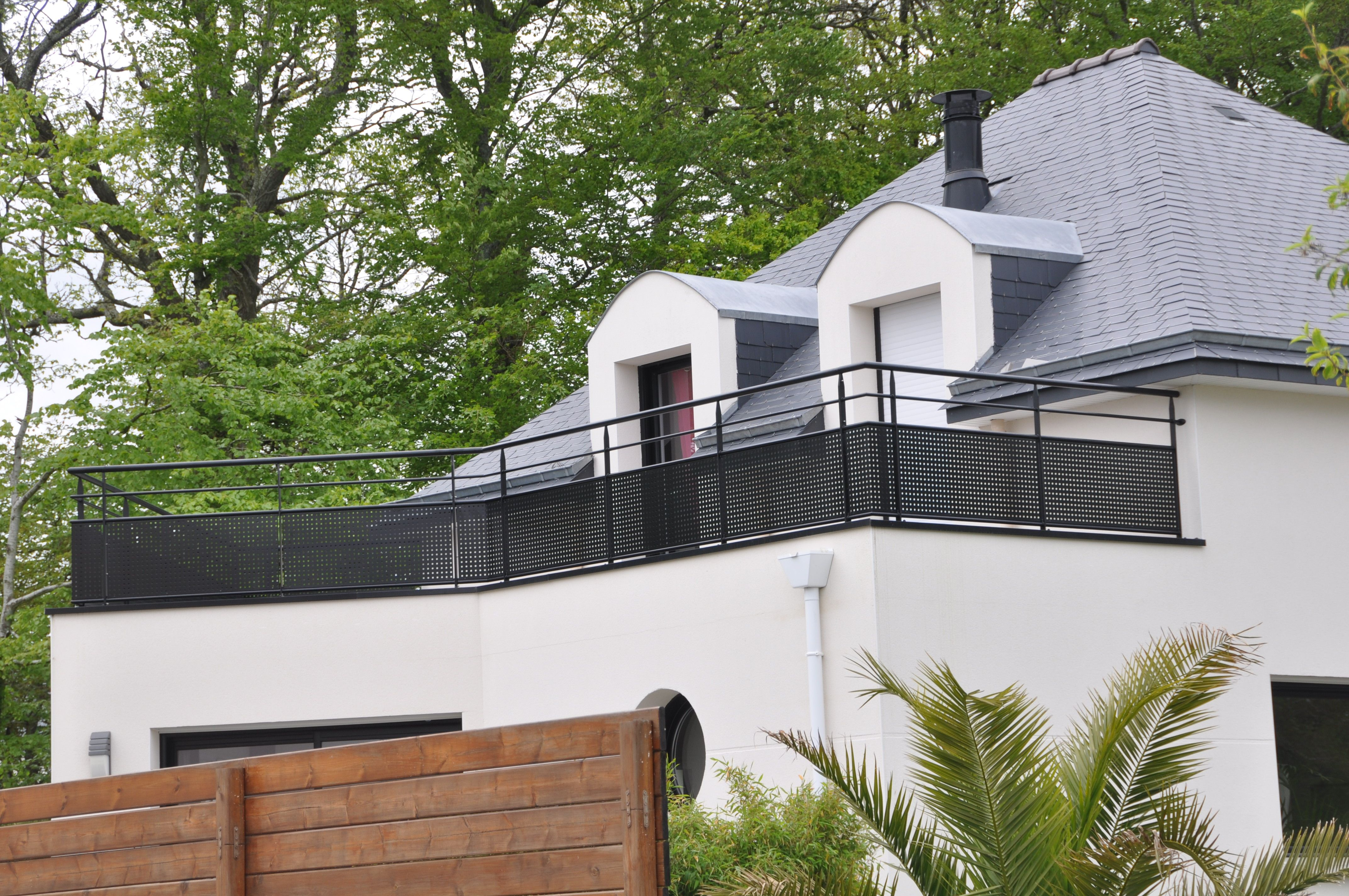 balustrade pour terrasse exterieure. Black Bedroom Furniture Sets. Home Design Ideas
