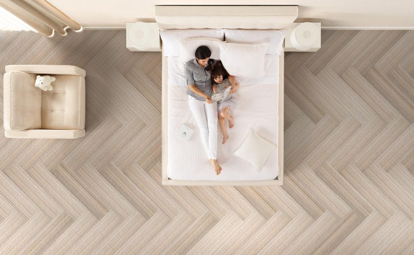 Herringbone layout of carpet tile flooring could also lay down wood herringbone layout of carpet tile flooring could also lay down wood laminate in the herringbone dailygadgetfo Choice Image