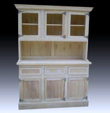 Mueble Modular, Cristalero 1,40m. Bisagras De Hierro - $ 2.925,00
