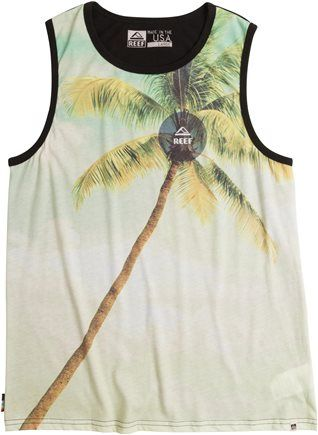 25% Off Men's Tanks And Surf Tees at Swell http://www.swell.com/Photo-Graphic/REEF-ENOUGH-TANK?cs=GN