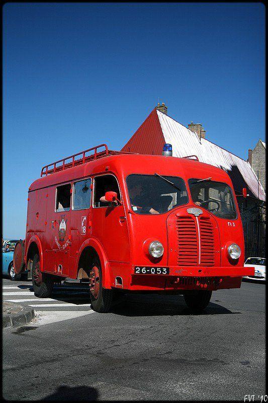 delahaye camion de pompiers ann u00e9es 1950