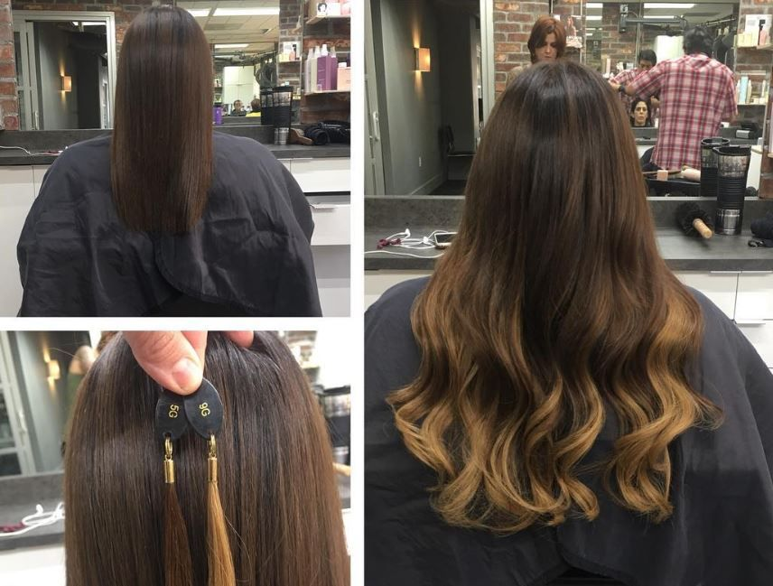 Instant Length Zero Damage Using Sdx Tape In Hair Extensions