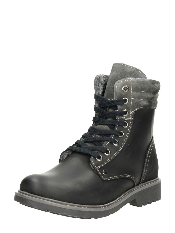 Choizz dames veterboots zwart | CHOIZZ Hiking Boots