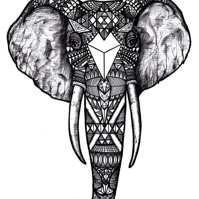 Elephant Mandala Tattoo Tattoos T Tatuajes Elefantes Y: Pin De Consuelo Mardonez En Draws