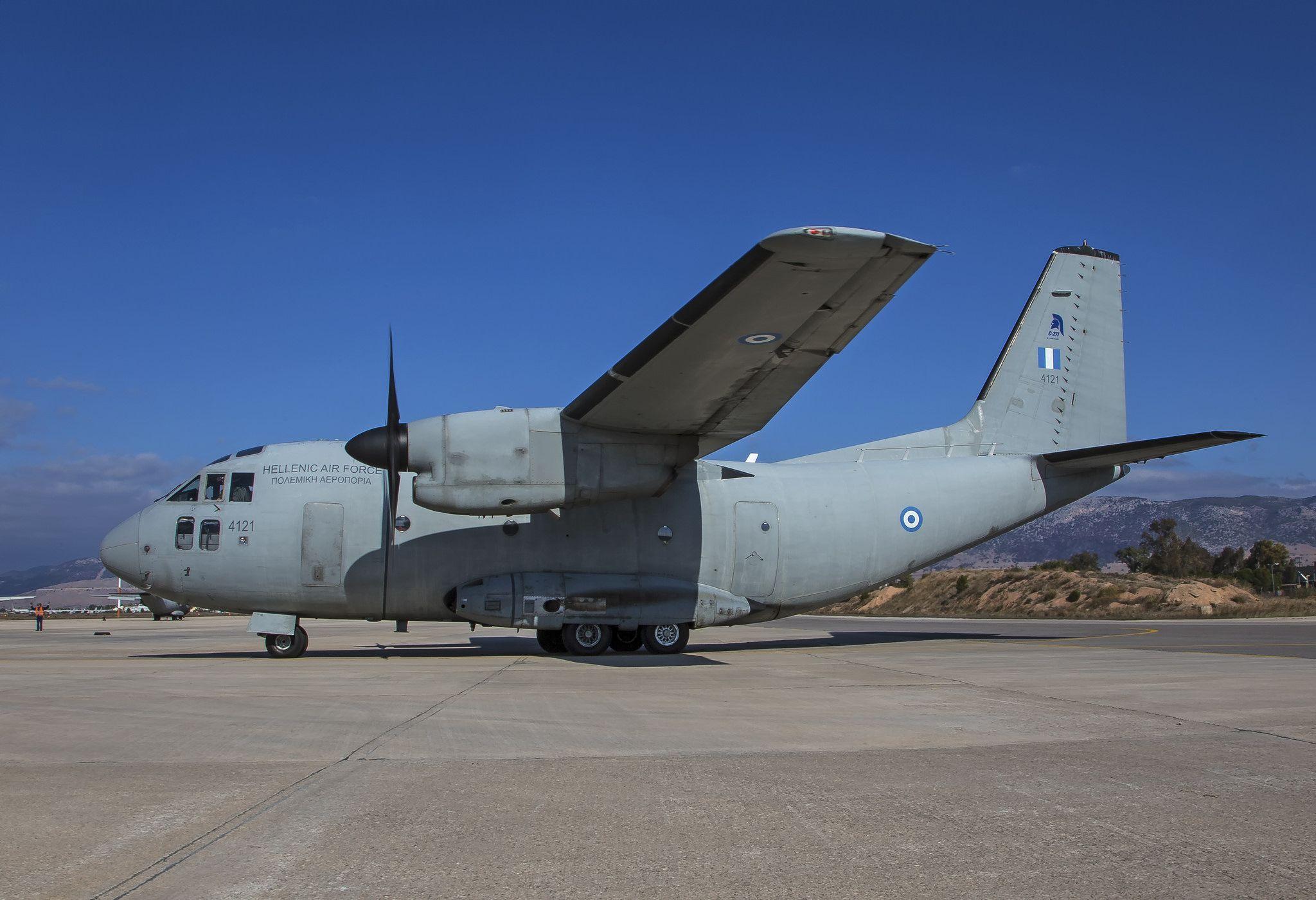 https://flic.kr/p/UXggtU | Alenia C-27J | Elefsis Air Base, Greece
