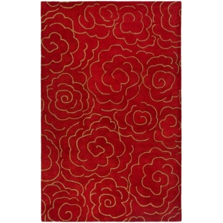 Safavieh Soho SOH812A Red Area Rug   http://www.arearugstyles.com/safavieh-soho-soh812a-red-area-rug.html