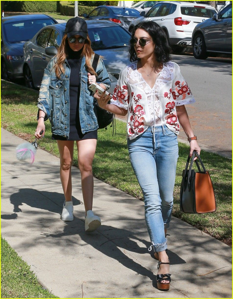 Vanessa Hudgens Has a Girls' Day Out With Ashley Tisdale