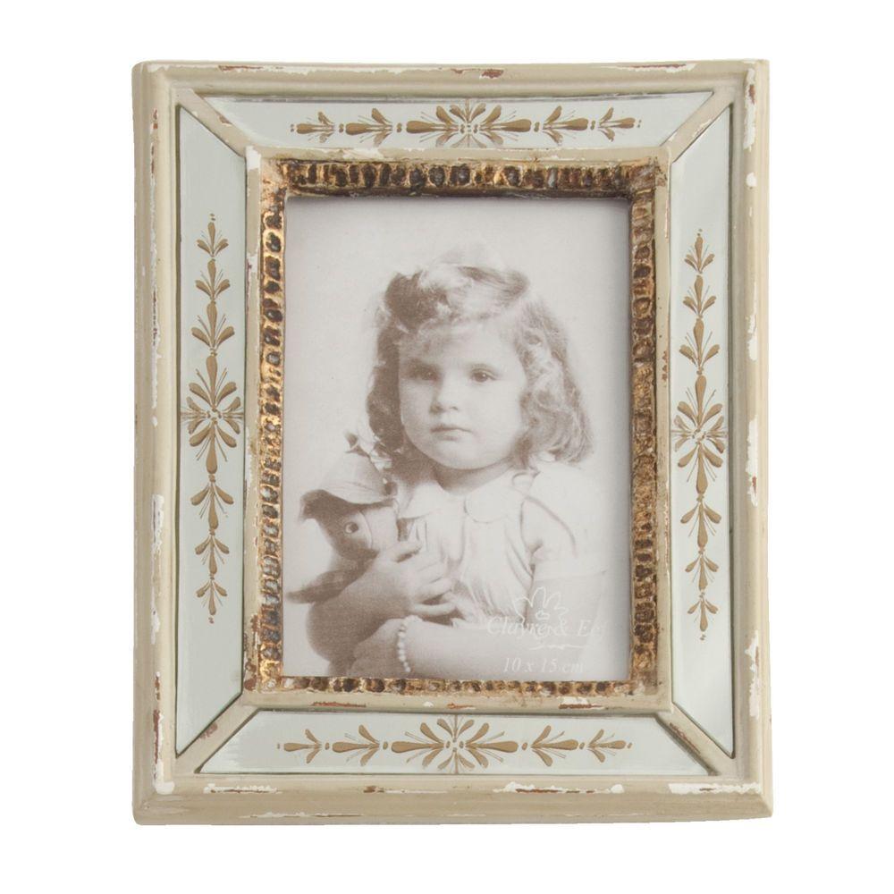 Bilderrahmen Fotorahmen silber gold glas von CLAYRE & EEF * Artikel ...