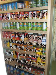 Online Food Storage Calculating Advice From The Lds Church