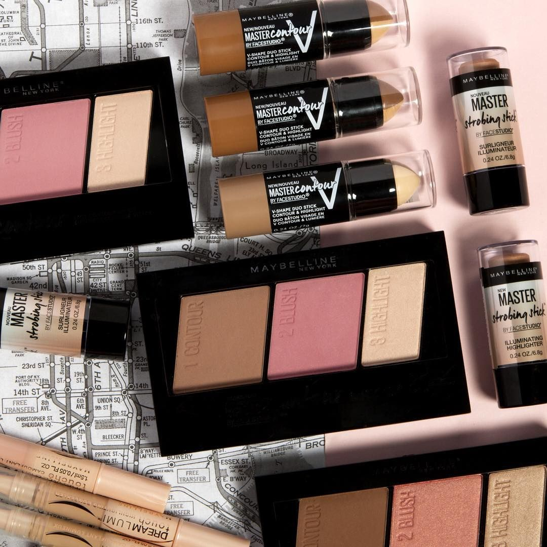 Contouring And Highlighting Made Easy All With Products From The Drugstore Maybelline Features Some Of Easiest Contouring And Highlighting Products Includ