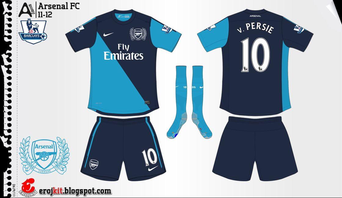 5b194313c Arsenal Kit 2011-2012 Away 1