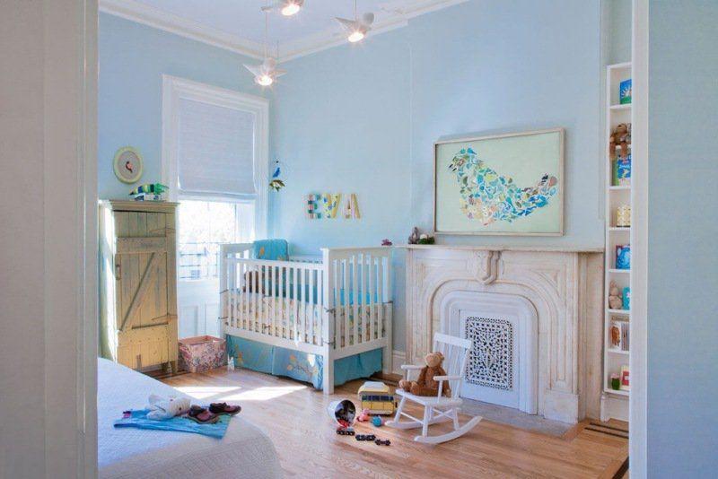 Décoration chambre bébé garçon en bleu \u2013 36 idées cool Bebe,Design