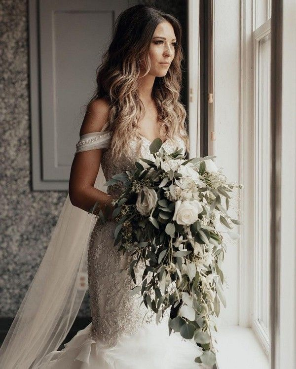 20 Neutral Greenery Wedding Bouquets -   16 wedding Bouquets bridesmaids ideas