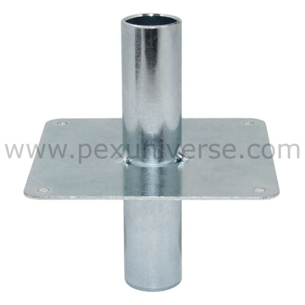Sioux Chief 550 Fp2 1 2 Pex Straight Floor Sleeve Support Pex Tubing Zinc Plating Flooring