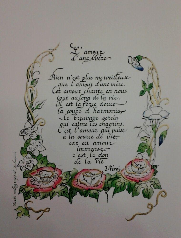 Poème Sur La Maman à Offrir Texte Lamour Dune Mère
