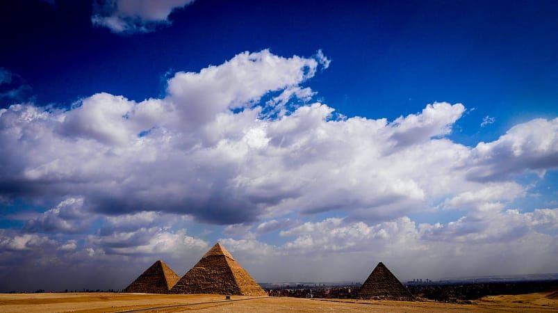pyramid landscape
