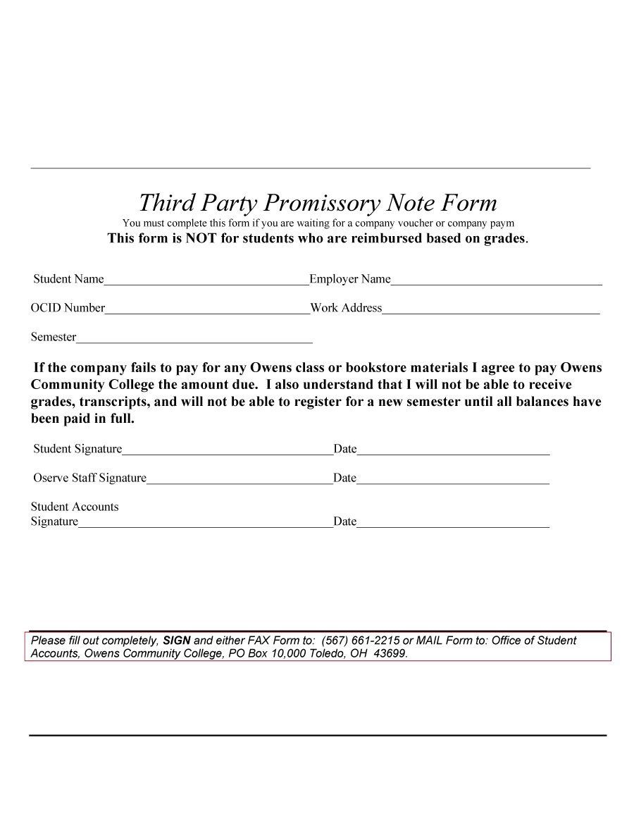 45 Free Promissory Note Templates Forms Word Pdf ᐅ Notes