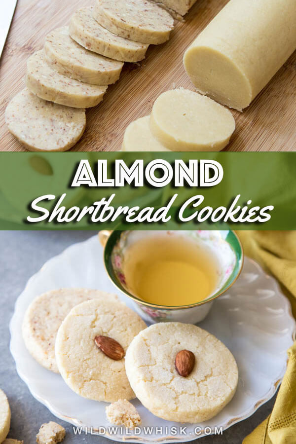 Almond Shortbread Cookies - Wild Wild Whisk