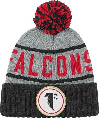 7df5bf766fec87 Atlanta Falcons Mitchell and Ness Cuffed Pom Knit Hat, $14.39 -- SAVE $9.60  (40% off)