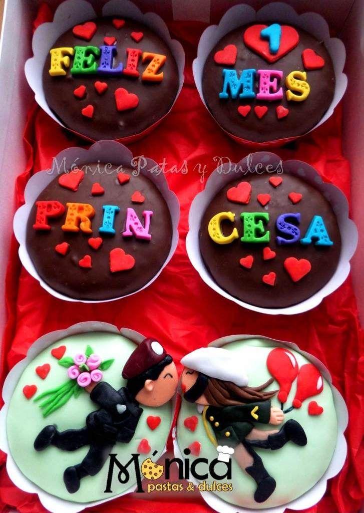 Cupackes conmensajes para una pareja enamorada de la - Sorpresas romanticas para tu novio ...