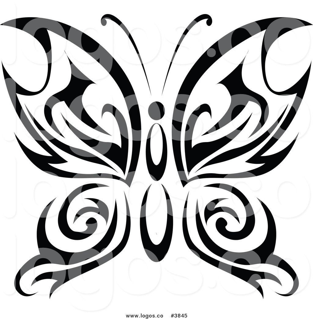 Vector - Black white butterflies of a tattoo - stock illustration, royalty  free illustrations, stock cl…   Tatuaggi di farfalle, Idee per tatuaggi,  Tatuaggi diffusi