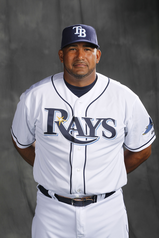 28 Jose Molina Rays Baseball Tampa Bay Rays Tampa Bay
