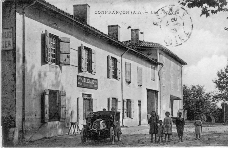 Carte Postale Confrancon A Confranconconfrancon Postale