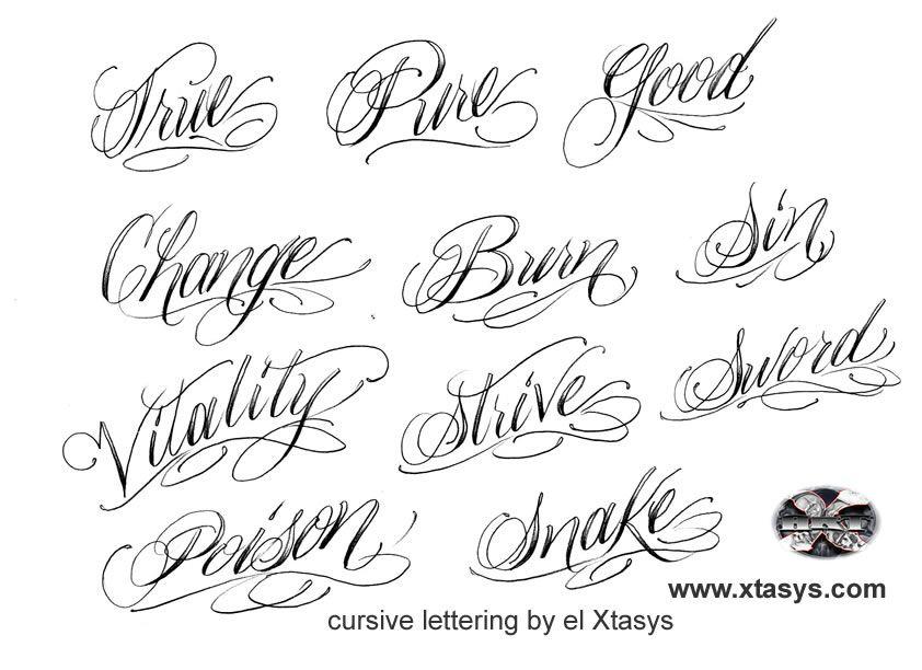 Lettering Tattoo Pesquisa Google Tattoo Pinterest