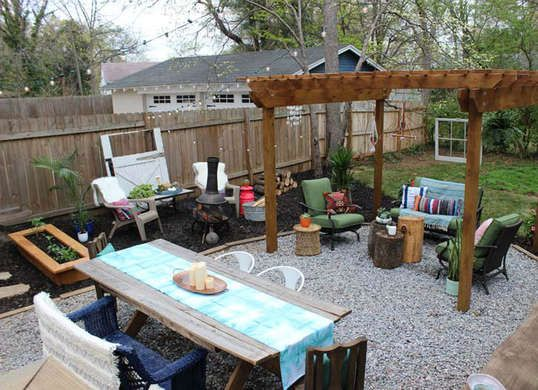 7 Ideas To Steal From Real People S Tiny Backyards Backyard