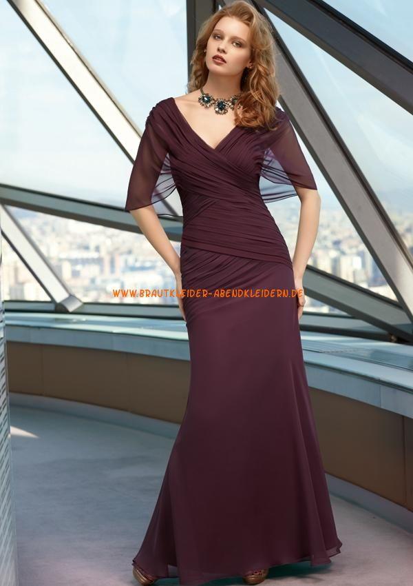 Elegante Abendmode 2013 aus Chiffon A-Linie online ...