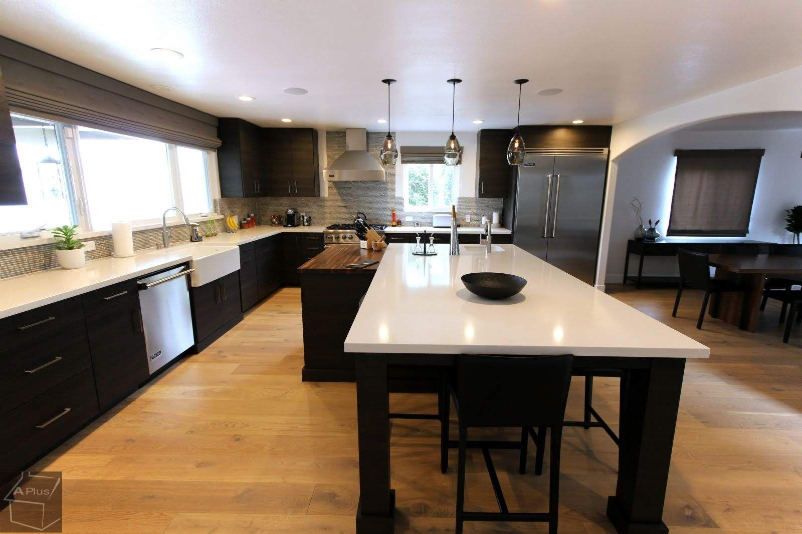 Long Beach Modern Contemporary Style Sophia Cabinets Kitchen Remodel Kitchen Bathroom Remodel Kitchen Remodel Contemporary Kitchen Design