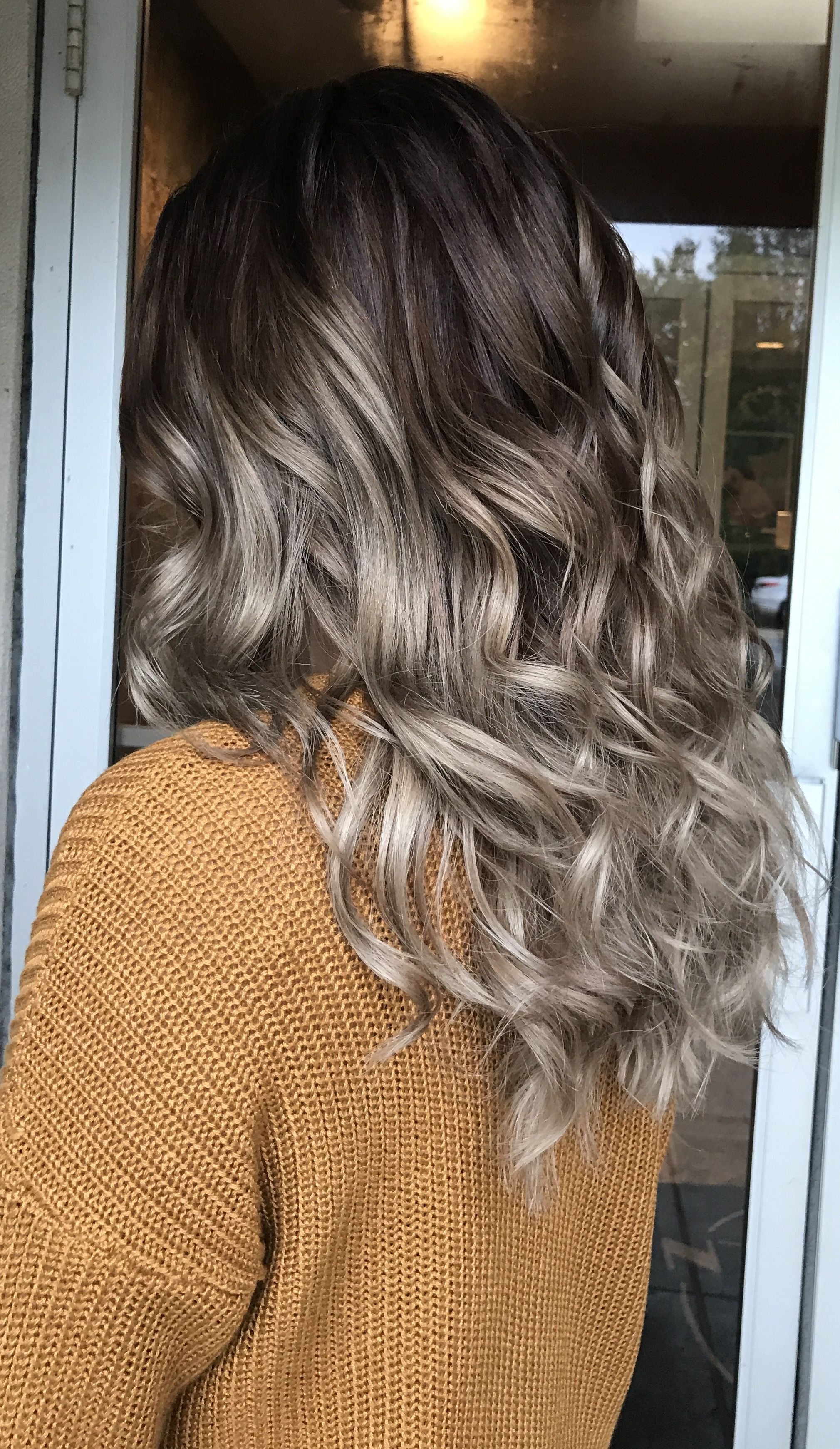 Ashy fall hair ️ mushroom brown | Hair Color. in 2019 ...